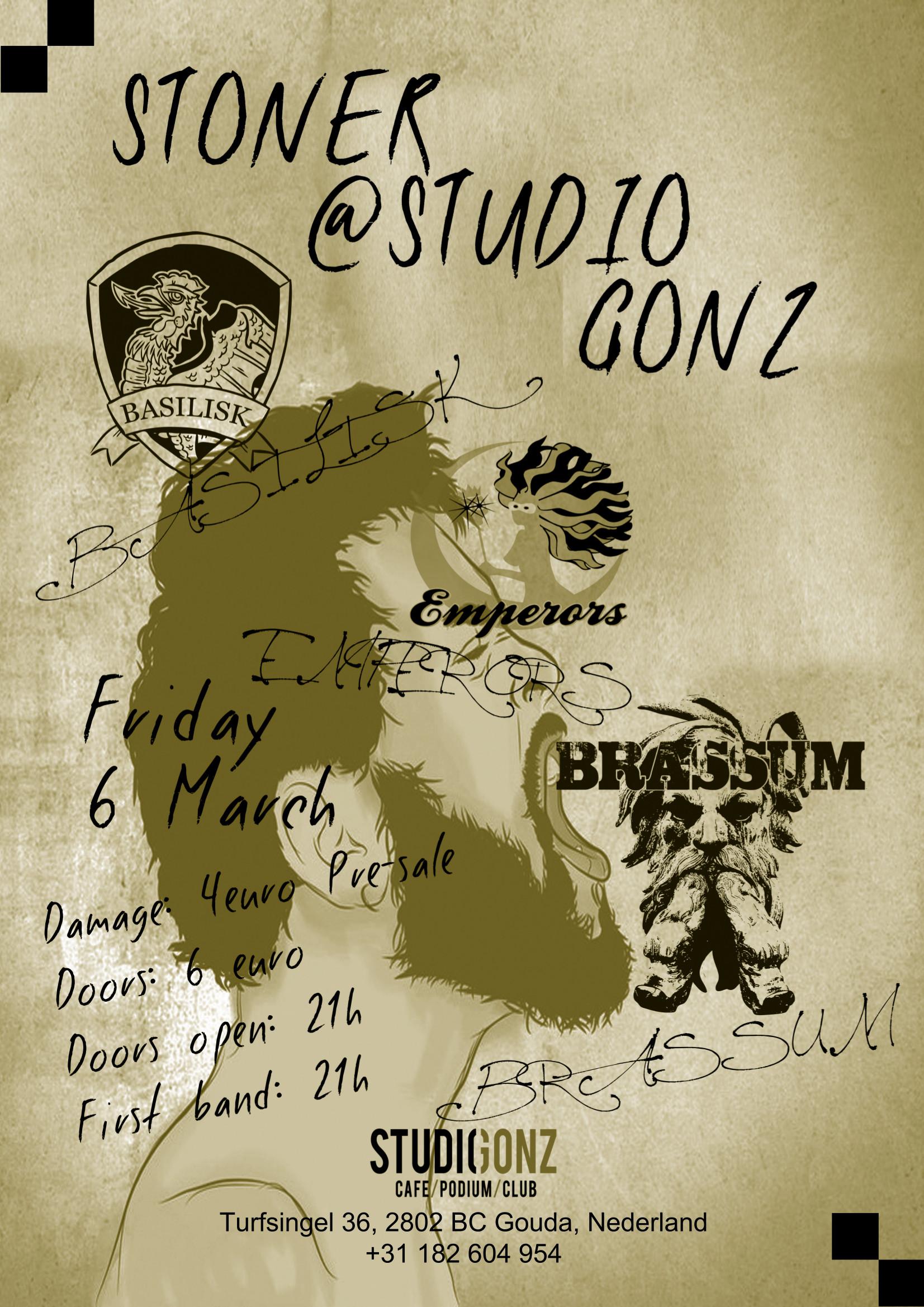 Uitgaan in Gouda: Stoner rock in StudioGonz